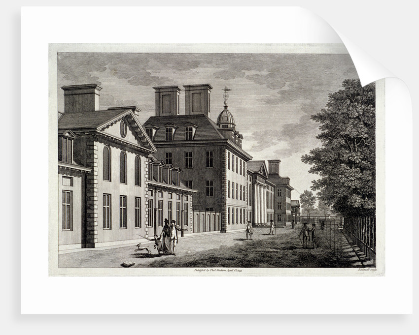 View of the Royal Hospital, Chelsea, London by Peter Mazell