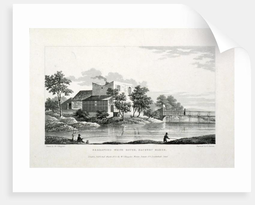View of Beresford White House, Hackney Marsh, Hackney, London by Edward Duncan