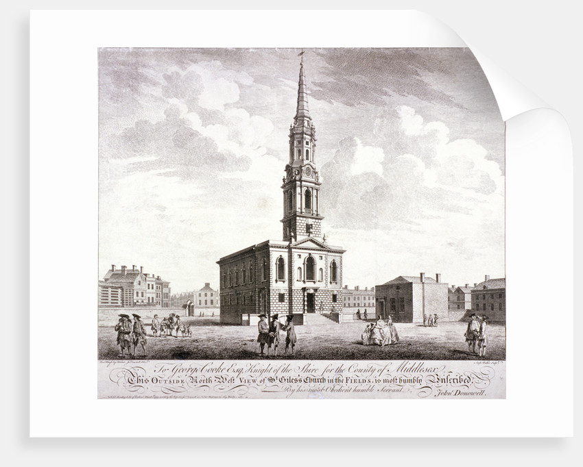 St Giles in the Fields, Holborn, London by Anthony Walker