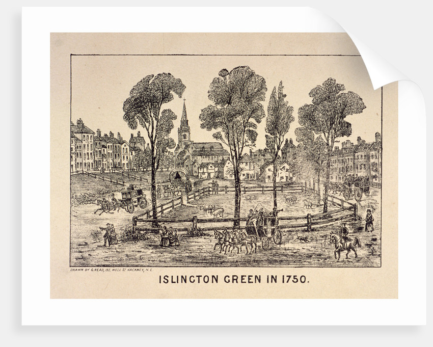 Islington Green, London by Anonymous