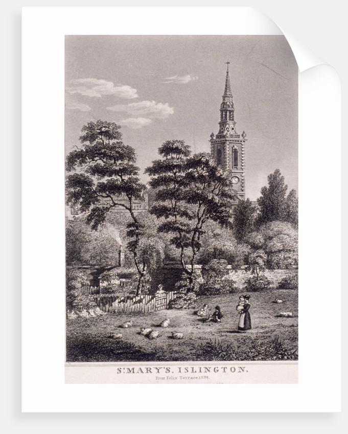 St Mary, Islington, London by Anonymous