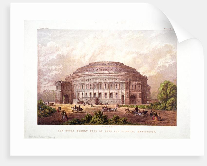 Albert Hall, Kensington, London by Kronheim & Co