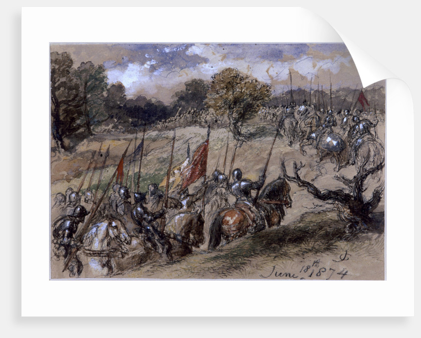 On the March by Sir John Gilbert