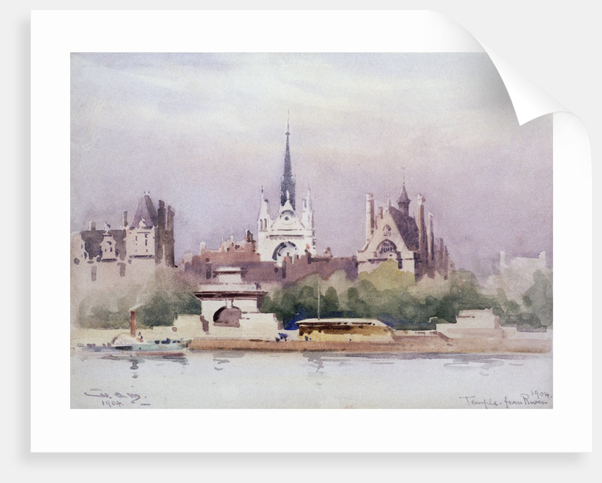 Temple from the River by