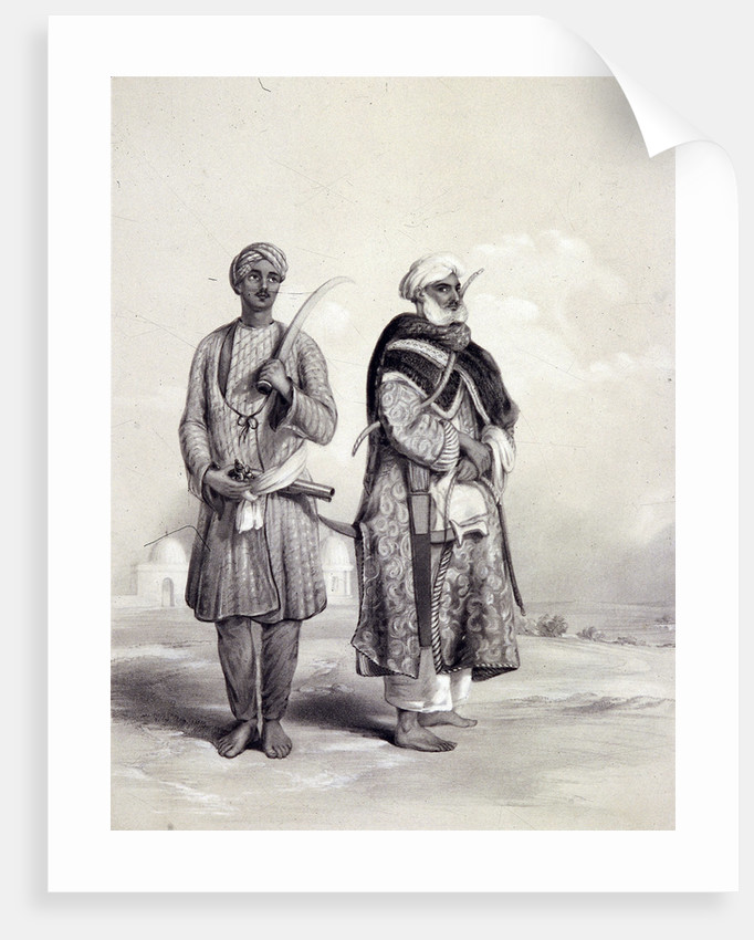 A Zemindar and a Puthan by Lowes Dickinson