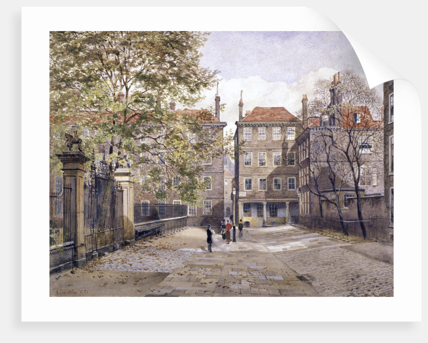Field Court, Gray's Inn, London by John Crowther