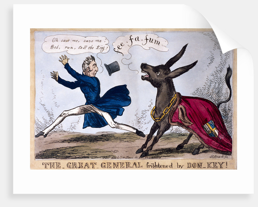 The great general frightened by Don-Key by Henry Heath