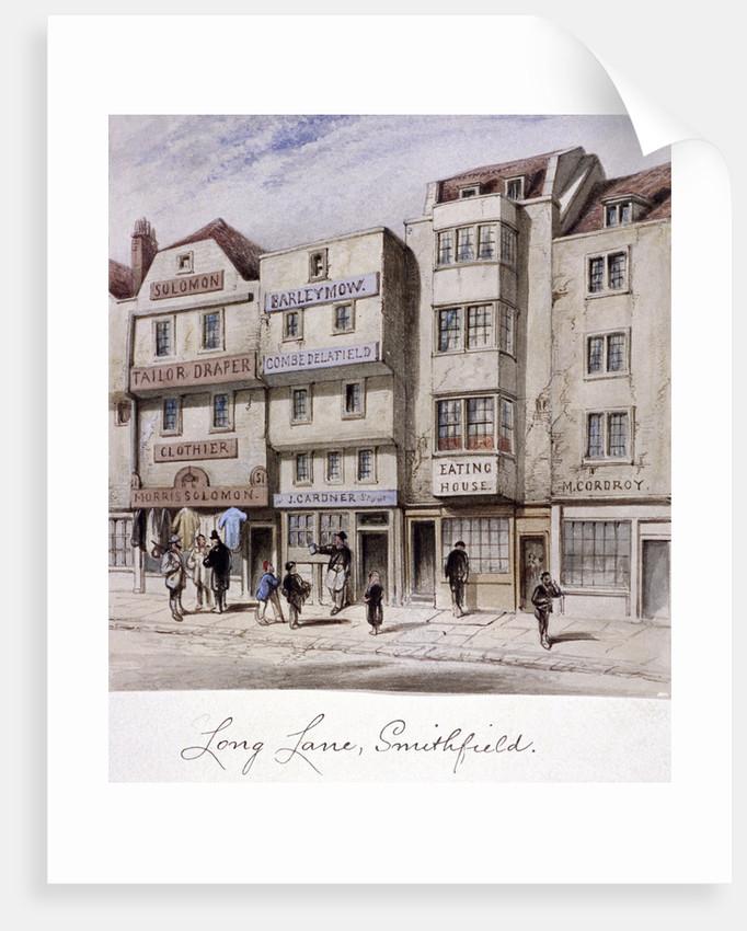 Long Lane, Smithfield, London by Anonymous