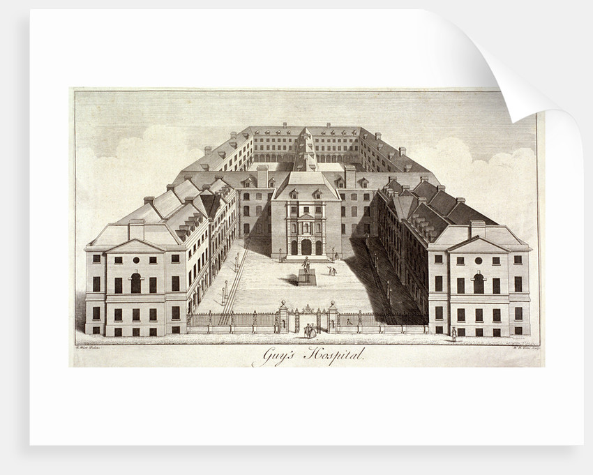 Guy's Hospital, Southwark, London by