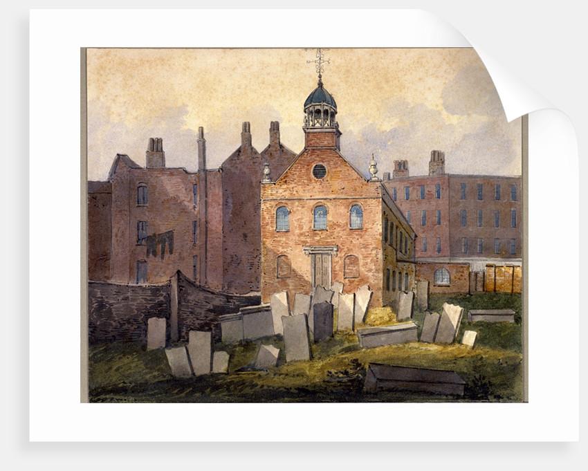 St Marylebone Old Church, London by William Pearson