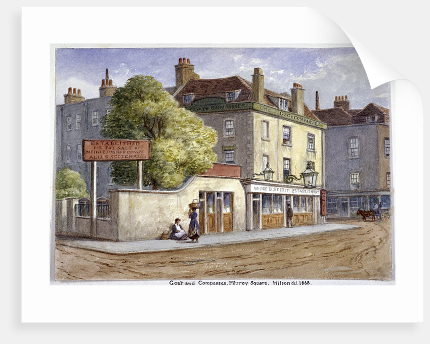 Old Goat and Compasses Inn, Marylebone Road, London by