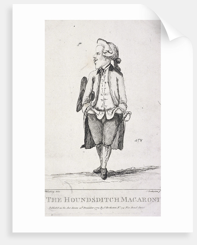 The Houndsditch Macaroni by James Bretherton