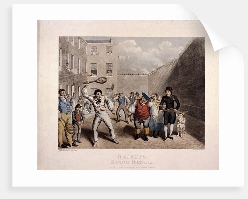 King's Bench Prison, Southwark, London by Theodore Lane