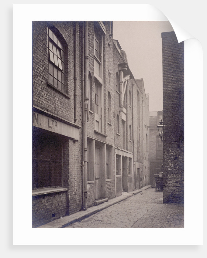 George and Catherine Wheel Alley, London by Anonymous