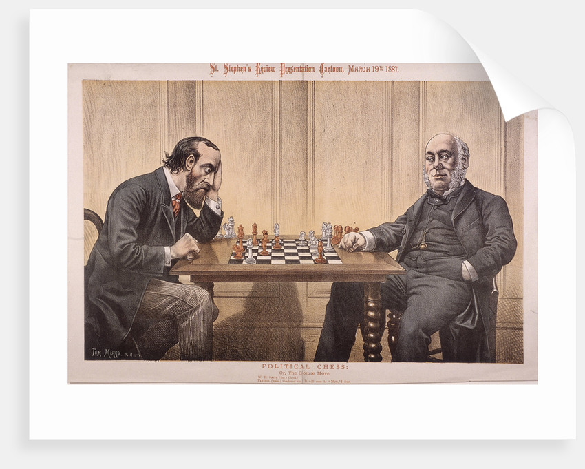 Political Chess by Tom Merry