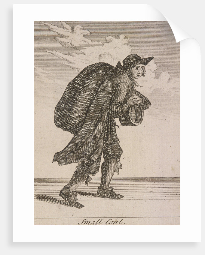 Small Coal, Cries of London, (c1688?) by Anonymous