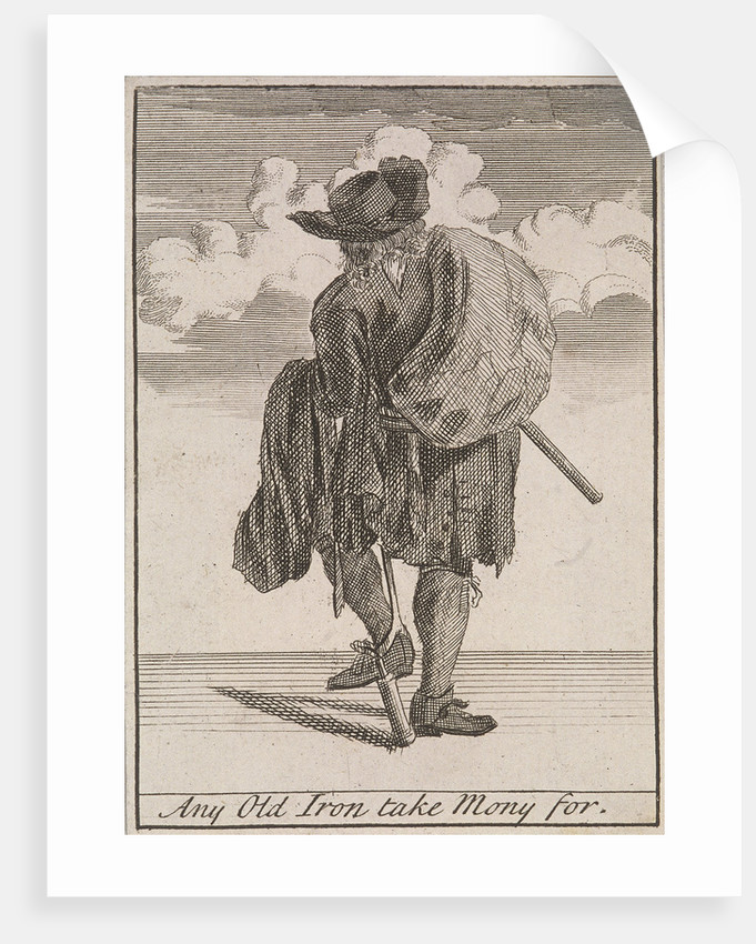 Any Old Iron take Mony for, Cries of London, (c1688?) by Anonymous