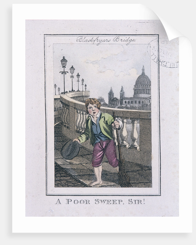A Poor Sweep, Sir!, Cries of London by Anonymous