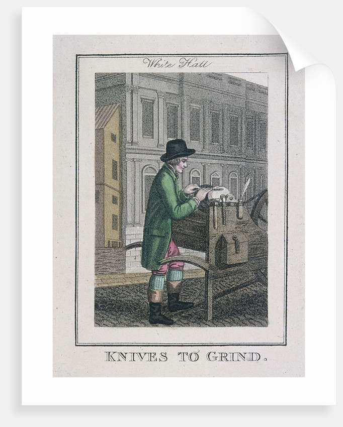 Knives to Grind, Cries of London by Anonymous