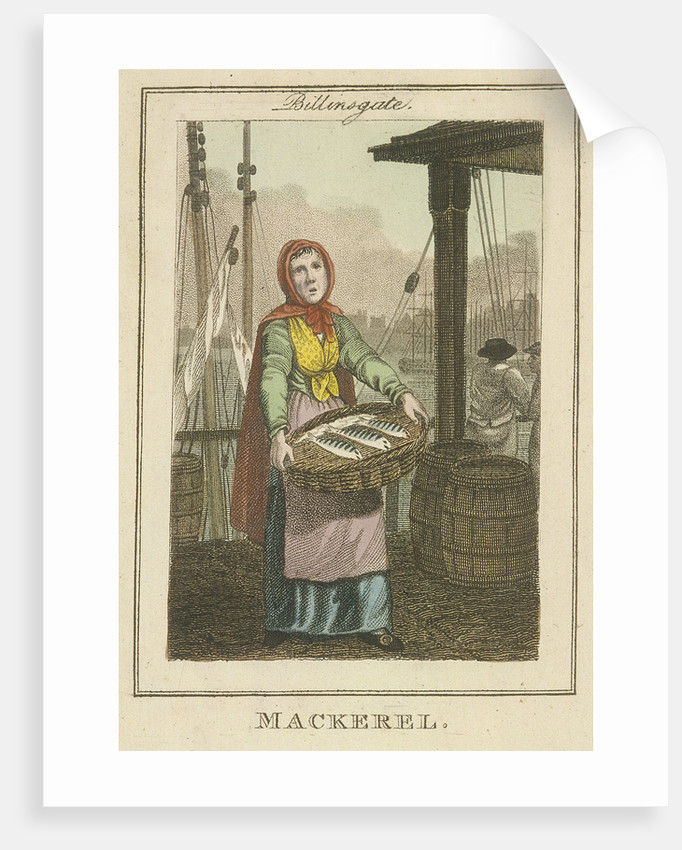 Mackerel , Cries of London by