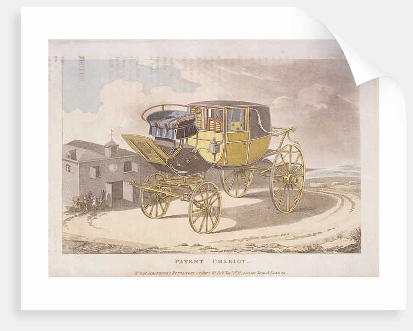 Patent chariot by Anonymous
