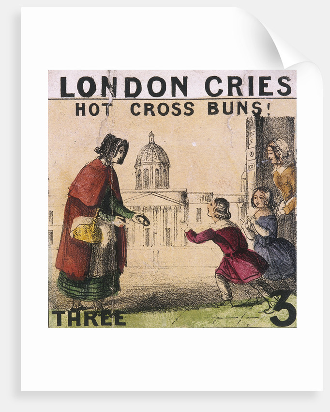 Hot Cross Buns!, Cries of London by