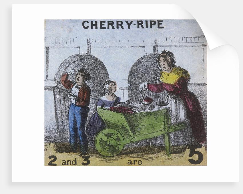 Cherry-ripe, Cries of London by TH Jones