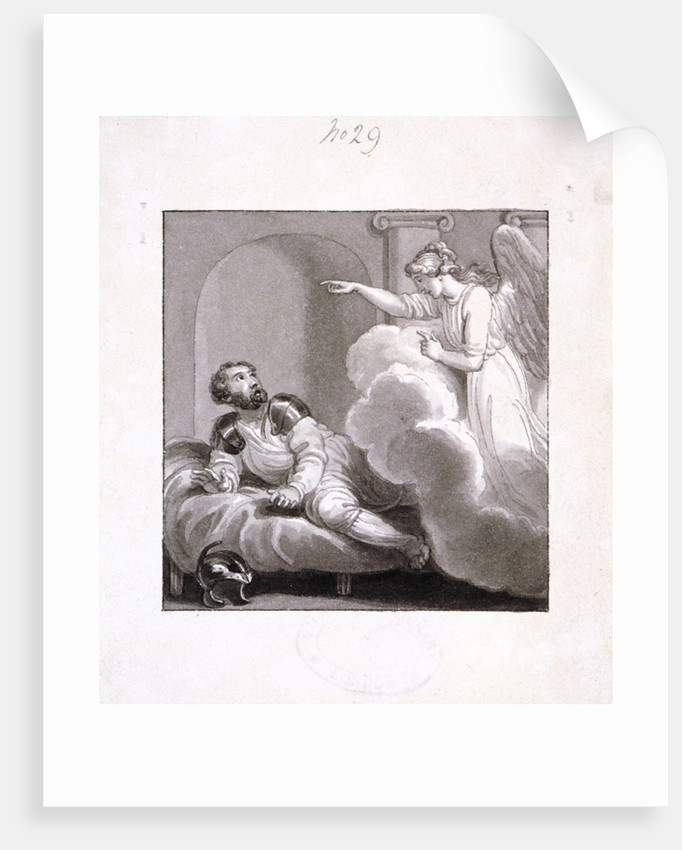 Angel appearing to Cornelius by