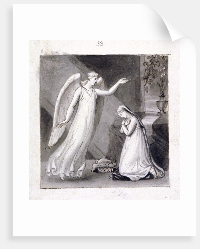 The Annunciation by Corbould Family