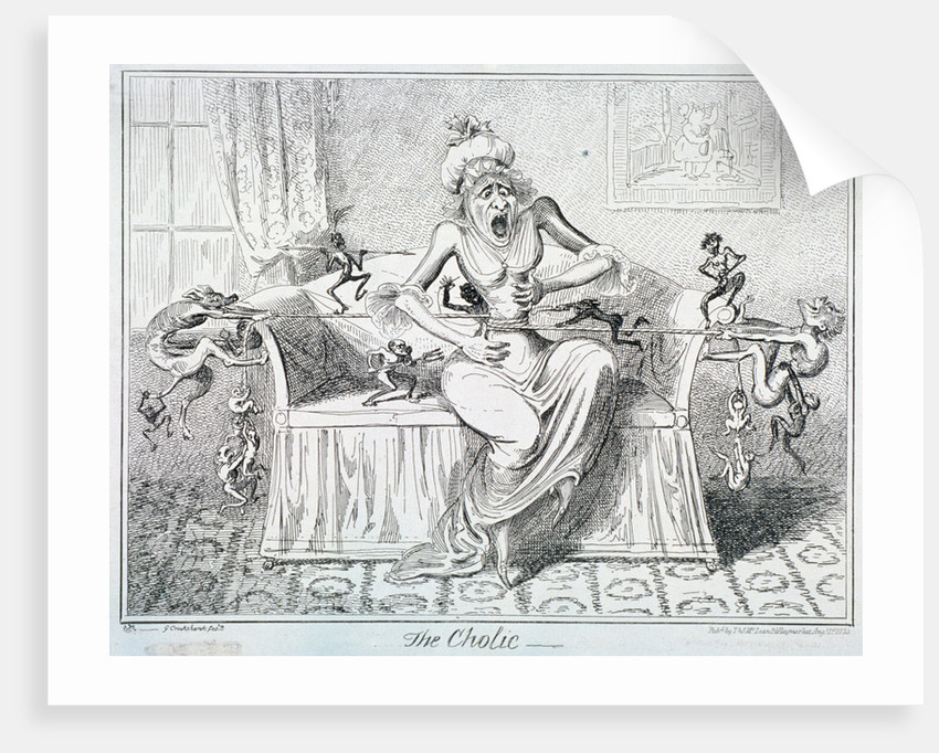 The Cholic by George Cruikshank