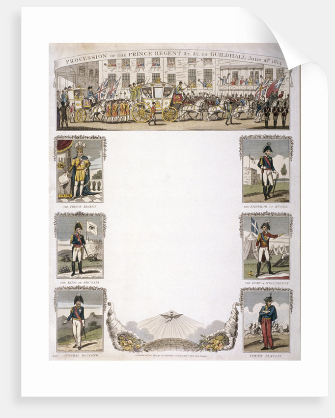 Procession of the Prince Regent by