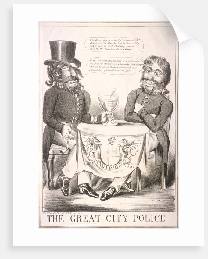 The Great City Police by