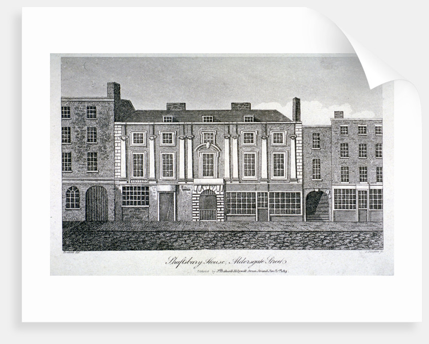 Shaftesbury House, Aldersgate Street, London by J Simpkins