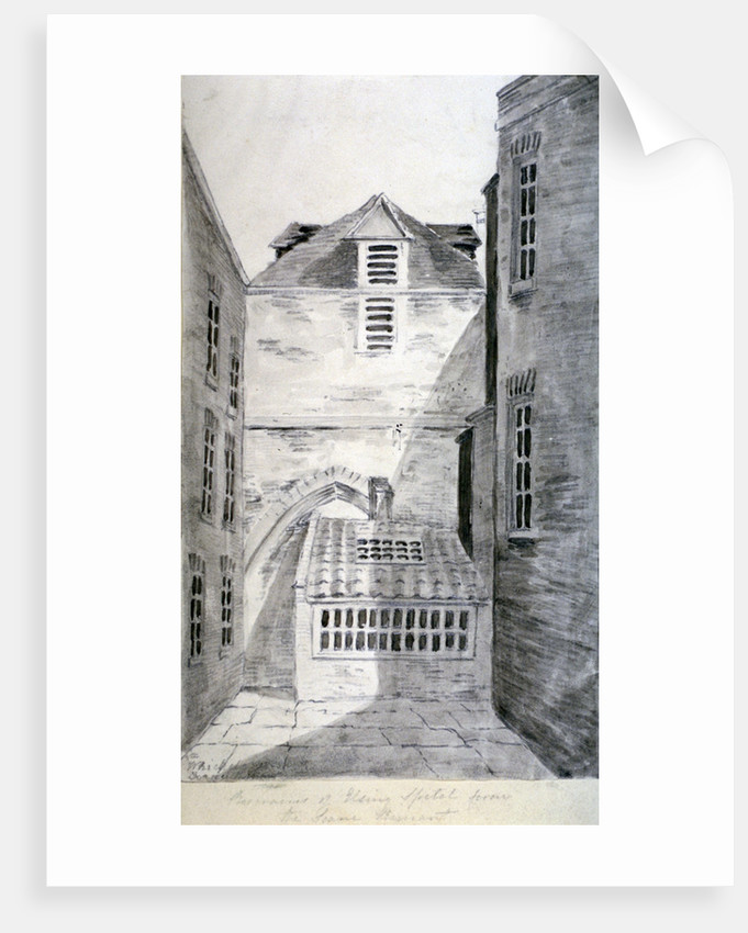 Church of St Alfege, London Wall, London by Anonymous