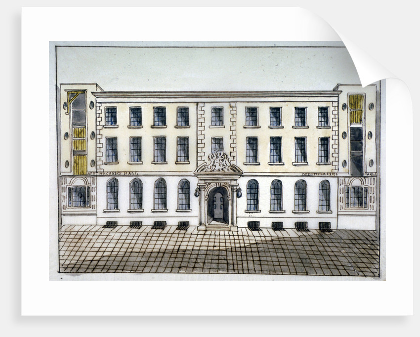 Apothecaries' Hall, City of London by