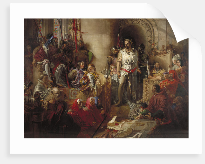 The trial of Sir William Wallace at Westminster by William Bell Scott