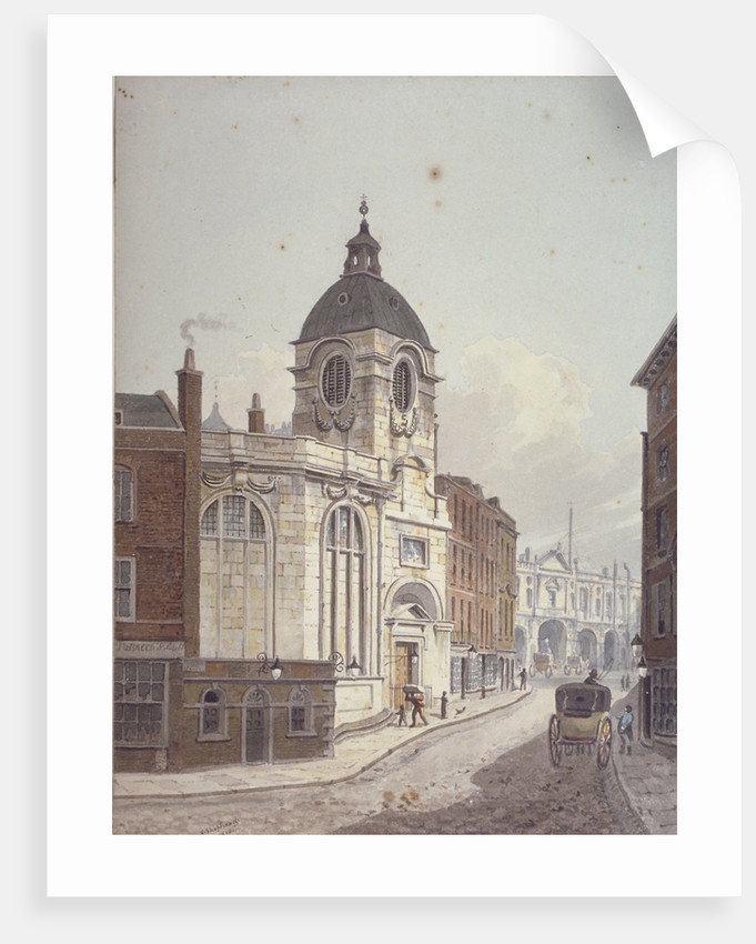 Church of St Benet Fink, Threadneedle Street, City of London by George Shepherd