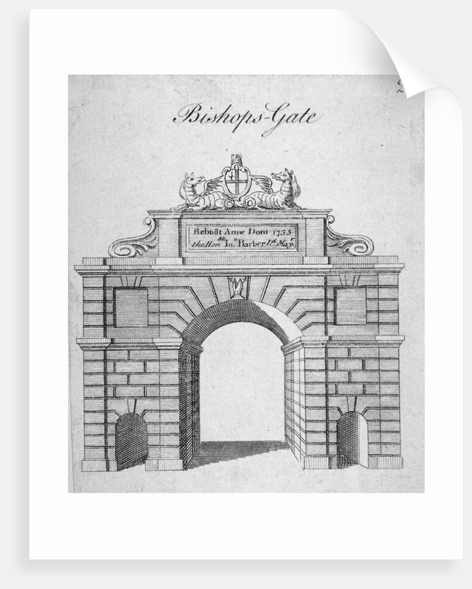 Bishopsgate, City of London by Anonymous