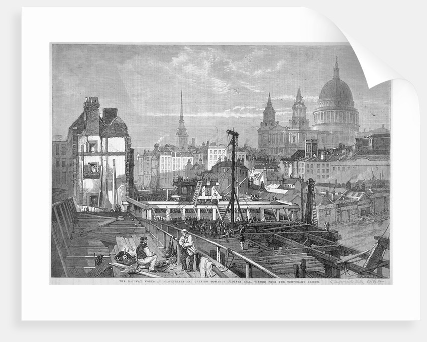 Blackfriars Bridge, London by Mason Jackson