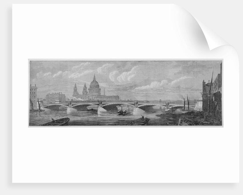 Blackfriars Bridge, London by Anonymous