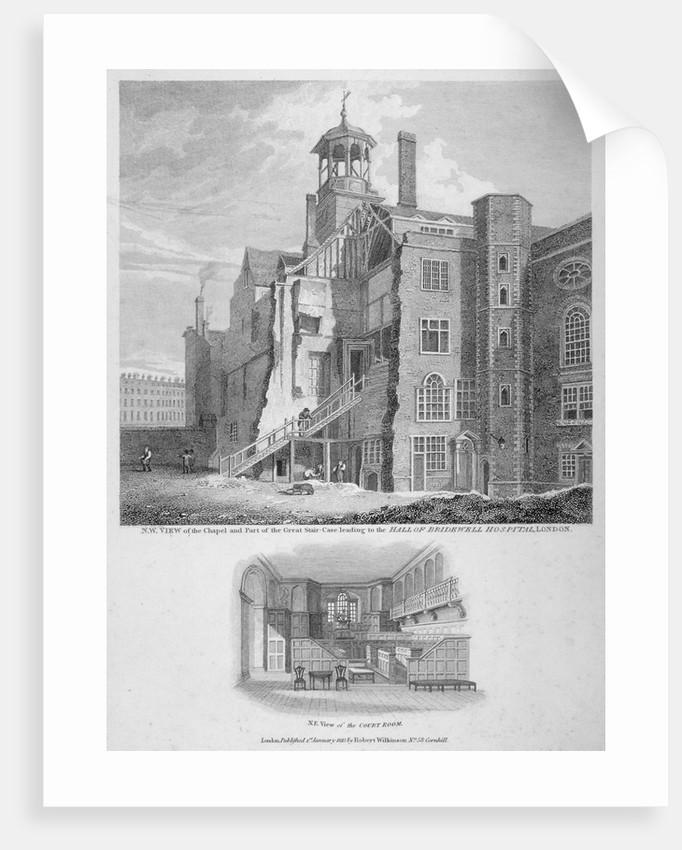 Bridewell, City of London by Bartholomew Howlett