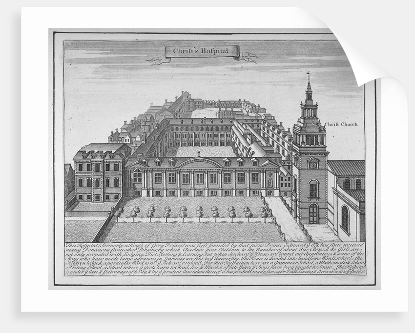 Christ's Hospital, City of London by Anonymous