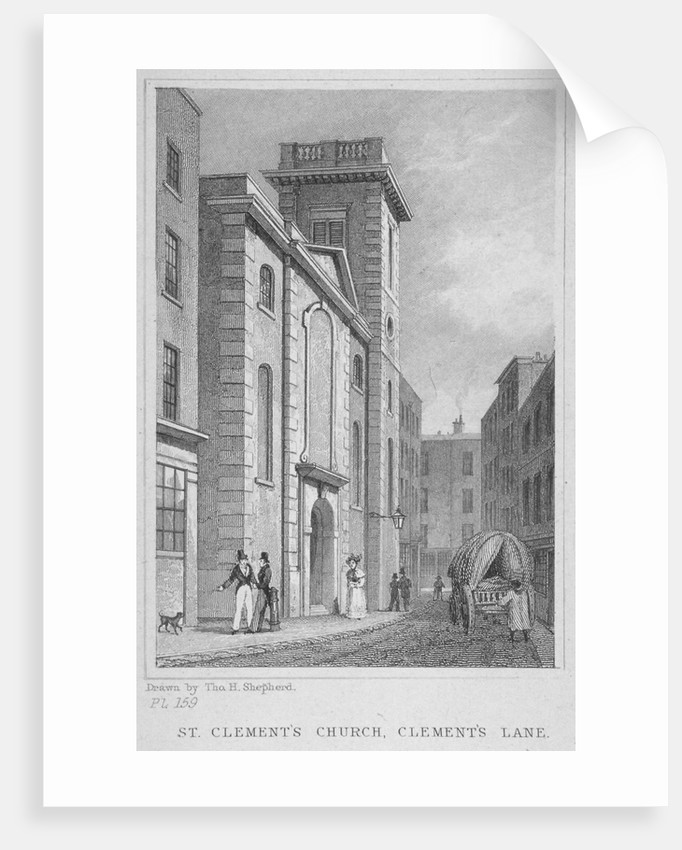 Church of St Clement, Eastcheap, City of London by Anonymous