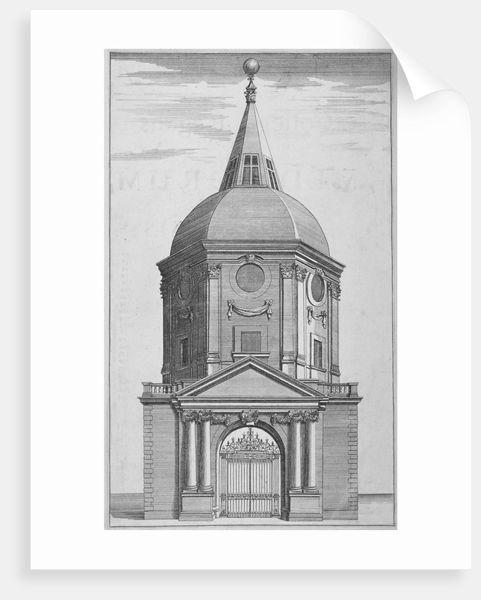 Gateway to the Royal College of Physicians, City of London by Anonymous