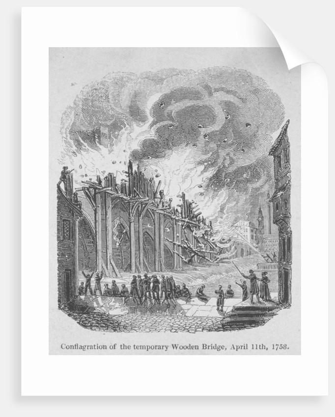 Fire on London Bridge by