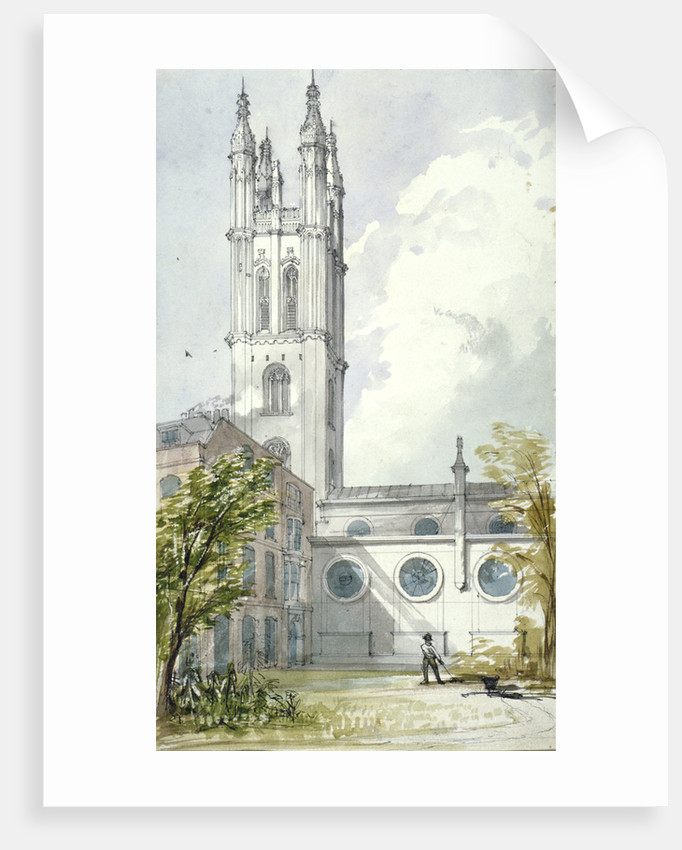 Church of St Michael, Cornhill, City of London by Robert William Billings