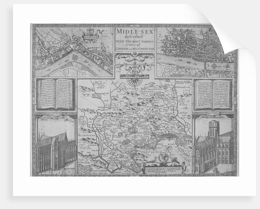 Maps of London by