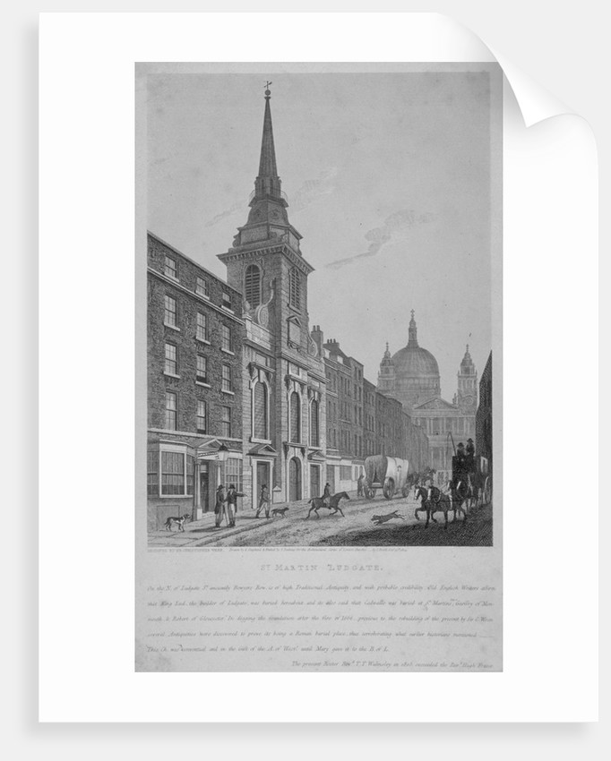 Church of St Martin within Ludgate, City of London by S Jenkins