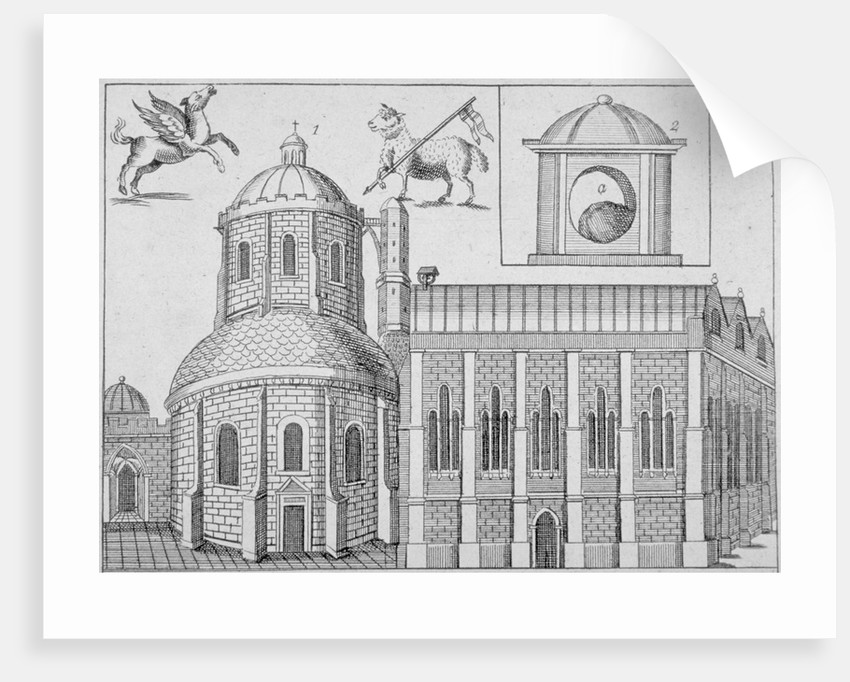 Temple Church, City of London by Anonymous