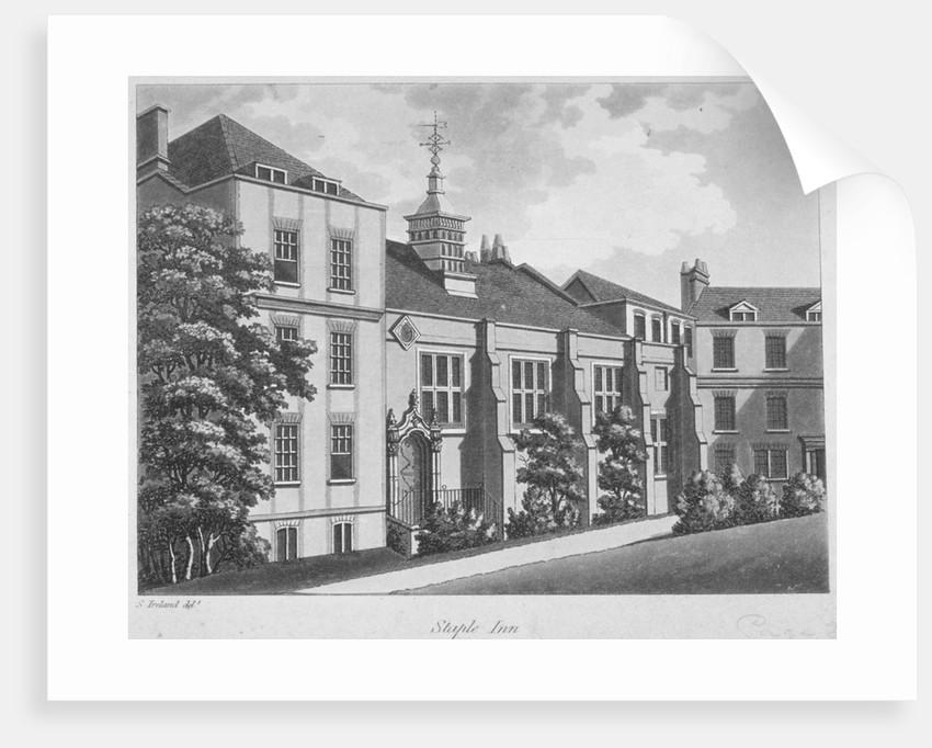 Staple Inn, City of London by William Angus